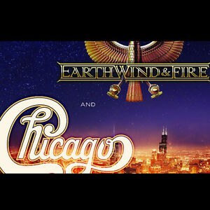 2 to 4 Loge for Earth, Wind, & Fire with Chicago - Nov. 5th