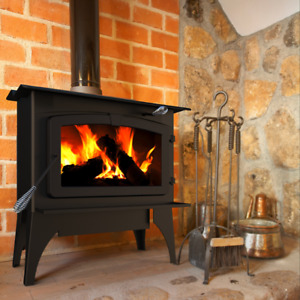 BRAND NEW - HE Large Wood Burning Stove