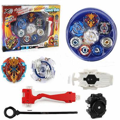 Beyblade Burst Evolution Kit Set Arena Stadion Spielzeug Geschenk Battle Blue