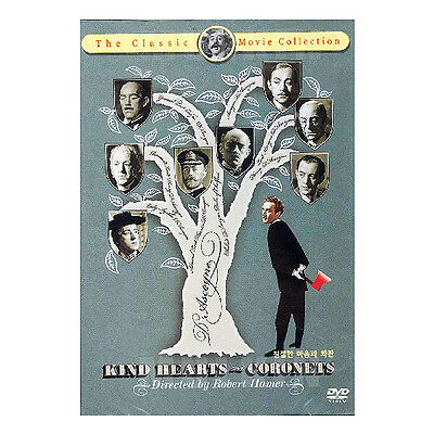 Kind Hearts And Coronets (1949) DVD -  Robert Hamer (*New *All Region)
