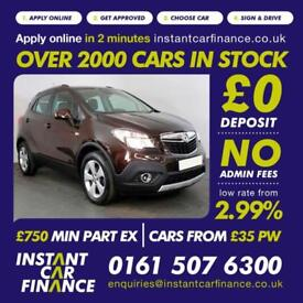 Vauxhall Mokka Tech Line Cdti S/S1.6 Manual Diesel BAD/ GOOD CREDIT CAR FINANCE