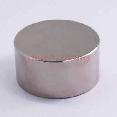 Strong Large D6030 Rare Earth Magnets N52 Neodymium Magnet Cylinder D60 X 30 Mm