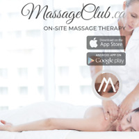 RMT massage in-home with insurance receipt