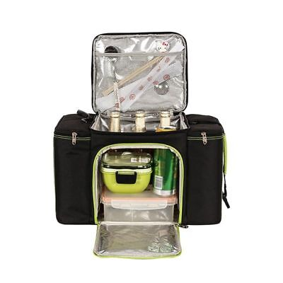 Capacity Food Carrier - Cooler Bag Big Capacity Portable Thermal Picnic Lunch Carrier Food Organizer