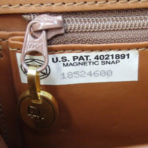 Christian Dior Leather AUTHENTIC bag