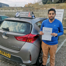 Automatic Driving Instructor in Tower Hamlets,Newham And Hackney