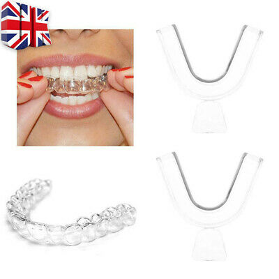 2 Teeth Whitening Mouth Tray Guard Thermo Gum Shield Tooth Bleaching Grinding
