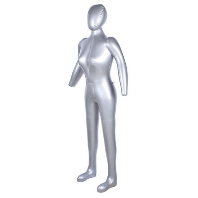 170cm Inflatable Full Body Female Model With Arm Mannequin Window Display Prop