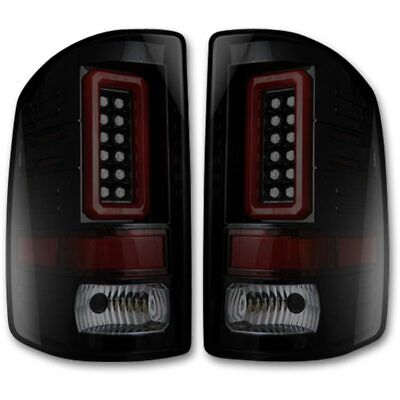 Recon Smoked OLED Tail Lights For 2015-2019 Chevrolet Silverado 2500 / 3500