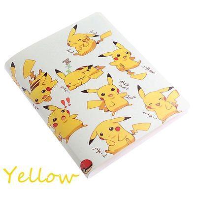 Pikachu Collection 324 Pokemon cards Album Book List holder pokemon  Yellow