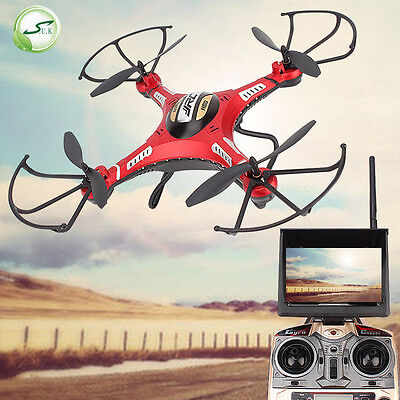 JJRC Upgraded H8D H8DH RC RTF Quadcopter Drone 5.8G HD 2.0MP Camera FPV Monitor