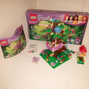 LEGO (3065) OLIVIA'S TREE HOUSE – 100% COMPLETE