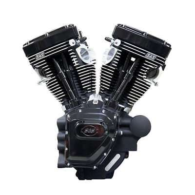 T111 S&S CYCLE TWIN CAM HD ENGINE BLACK EDITION 07+ TOURING 585 CAMS