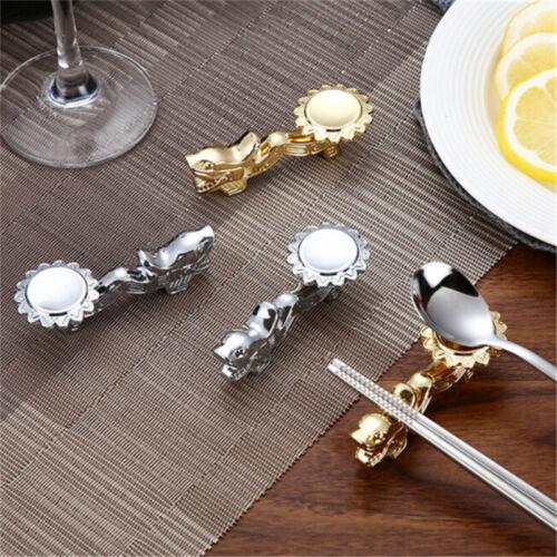 Fork Spoon Chopsticks Rest Stand Holder Cafe Restaurant Gift Decoration WT