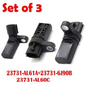CAM AND CRANK SENSORS FOR NISSAN AND INFINITI VEHICLES. NEW!