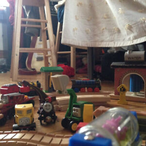 Large Thomas and Friends Train Collection -BRIO & Learning Curve