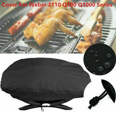 BBQ Abdeckung Grill Abdeckhaube Cover für Weber 7110 Q100/1000 Serie Wasserdicht