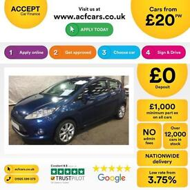 Ford Fiesta FROM £20 PER WEEK!