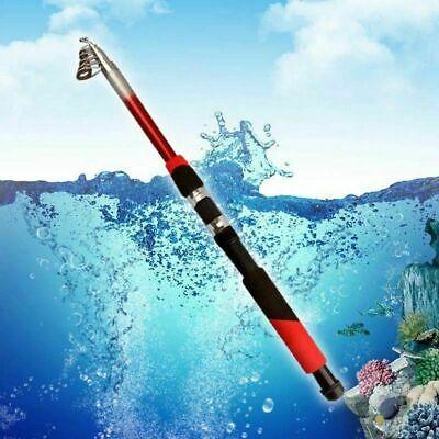 Travel Rod Reel - US Superhard Carbon Fiber Telescopic Fishing Rod Reel Sea Travel Spinning Pole
