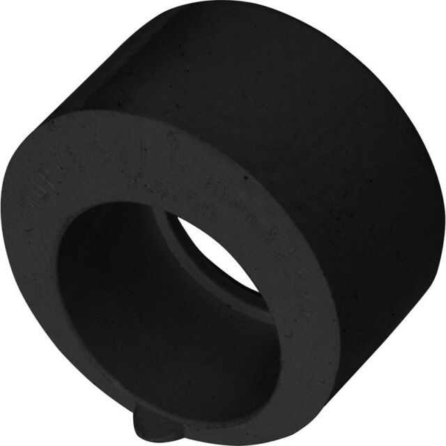 NEW Solvent Weld Overflow Reducer 21.5mm x 40mm Black Each