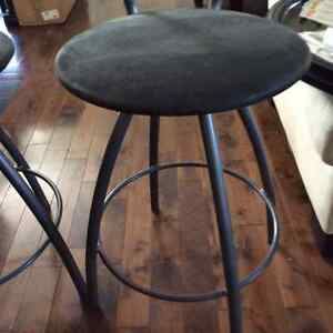 $40  2 counter/island height swivel stools Table Chair Co. London Ontario image 4