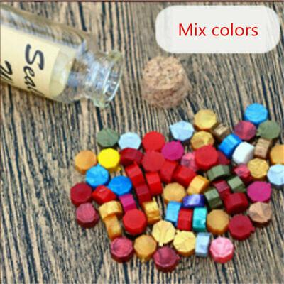 Wax Seal Bottles - Wax Sealing Beads In Bottle Letters Stamp Seal Melting Wedding Envelope 60pcs