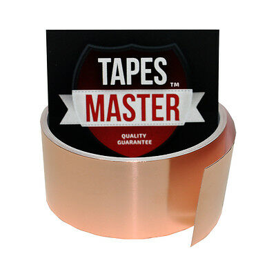 Copper Foil Tape - 1.5 X 10ft - Emi Conductive Adhesive Ship From Usa