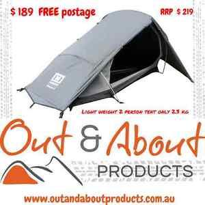 Mannagum Howqua Hike-Lite 2 Person Tent   FREE POST Wallaroo Copper Coast Preview
