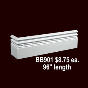 MOULDING CROWN, BASEBOARDS, MEDALLIONS, BALUSTER CLEARANCE NOW