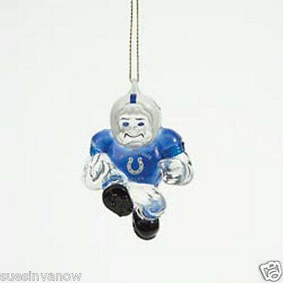 New Indianapolis Colts NFL Licensed Christmas Ornament Acrylic Football Sports  Nfl Licensed Indianapolis Colts Ornament