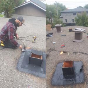 les toitures 300 équipe anti-fuite! réparation et inspection