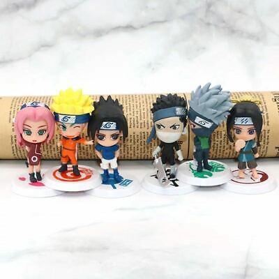 Kakashi Sasuke Gaara Itachiv 5pcs//Set Naruto Shippuden Action Figures Toy Set