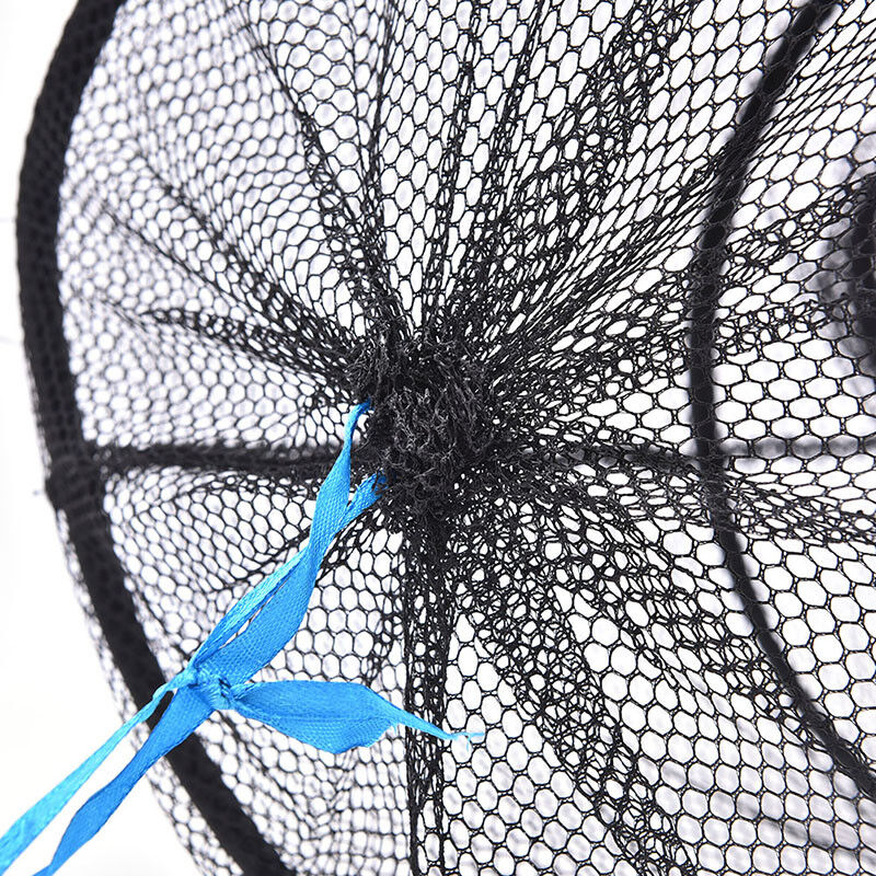 4Layers Collapsible Fishing Basket Dip Net Fishing Cage Fishing Accessor Tool FB - 9