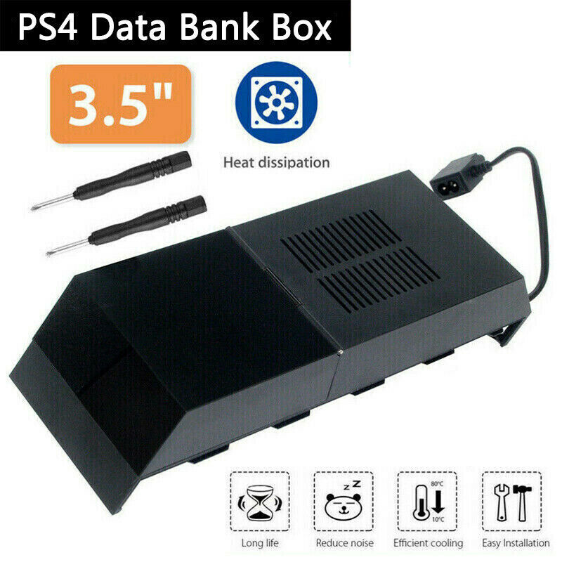 8TB Hard Drive External Storage Box For Playstation 4 PS4 Extra Memory Data Bank