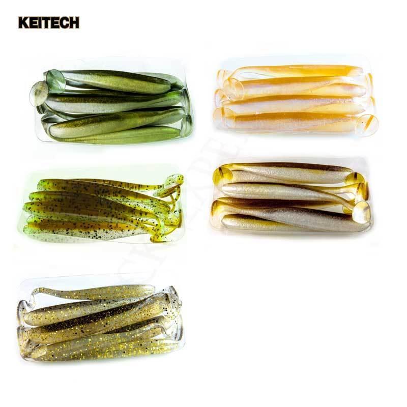Keitech Easy Shiner die Nr.1 ,Best OF,Gummifische,Barsch Köder,Zander,Kunstköder