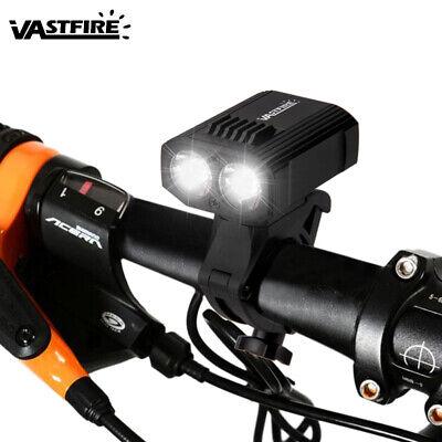 Linterna Delantera con Luz LED para Bicicleta 15000LM XM-L T6 Recargable con...