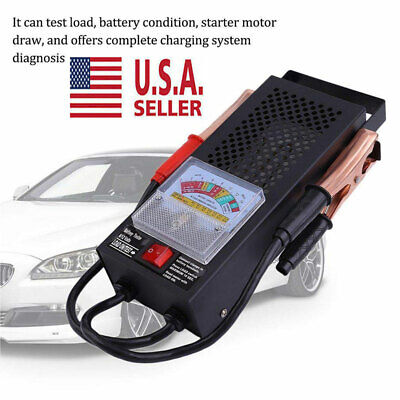 New Battery Load Tester 100 Amp Load Type Mechanics Car Truck 6V & 12V USA