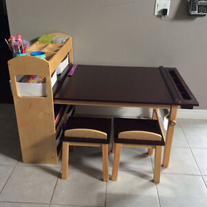 Craft Table for Kids