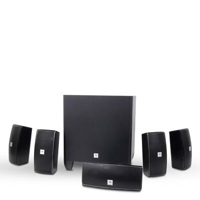 JBL Cinema 610 5.1 Cn Home Theater System Powered Subwoofer 160W