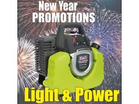 SEALEY GENERATOR INVERTER 1000W 230V G1000I RUNS QUIETER FUEL EFFICIENT NEW YEARS PROMOTIONS