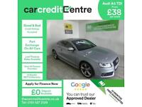 SILVER AUDI A5 2.0 TDI S LINE SPECIAL EDITION ***FROM £38 PER WEEK***