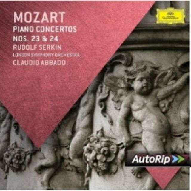 SERKIN/LSO/ABBADO - KLAVIERKONZERTE 23 & 24  CD NEU MOZART,WOLFGANG AMADEUS