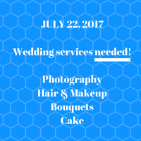 July 22 - Wedding Photographer Needed