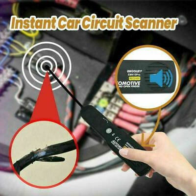 Automotive Cable Wire Tracker Car Tracer Finder Test Short & Open DC 6-42 Volts