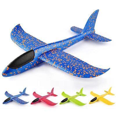 Gleitflugzeug Kinder Flugzeug Spielzeug Outdoor Segelflugzeuge Flieger Wurf Led