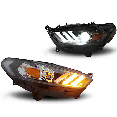 Aftermarket HID Xenon Projector Headlight Assembly for Ford Fusion