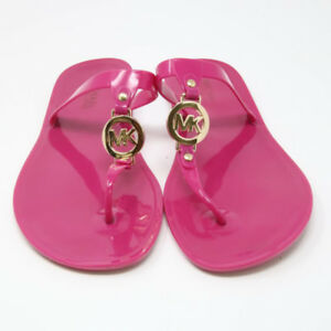 MK JELLY SANDLE HOT PINK SIZE 7