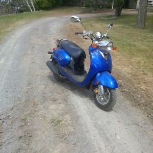 Yamaha 125 Vino Only 145 Kilometers