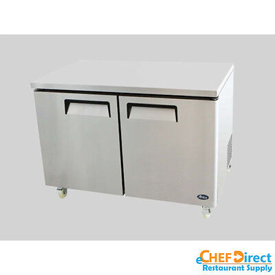 Atosa Mgf8406 48 Double Door Undercounter Freezer