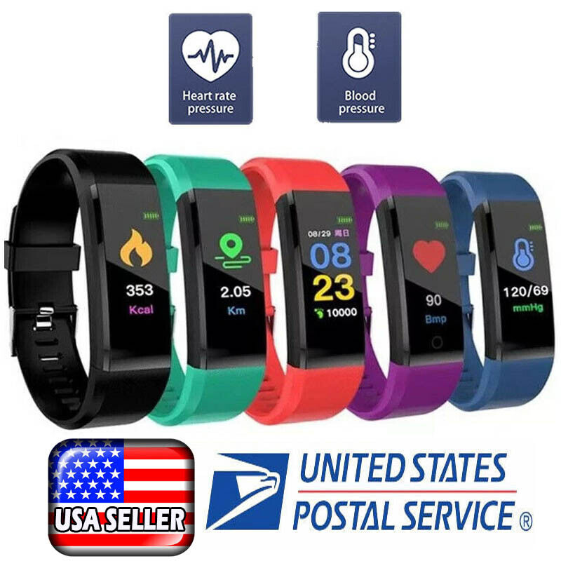 Fitness Smart Watch Band Sport Activity Tracker ADULT Kid Fi